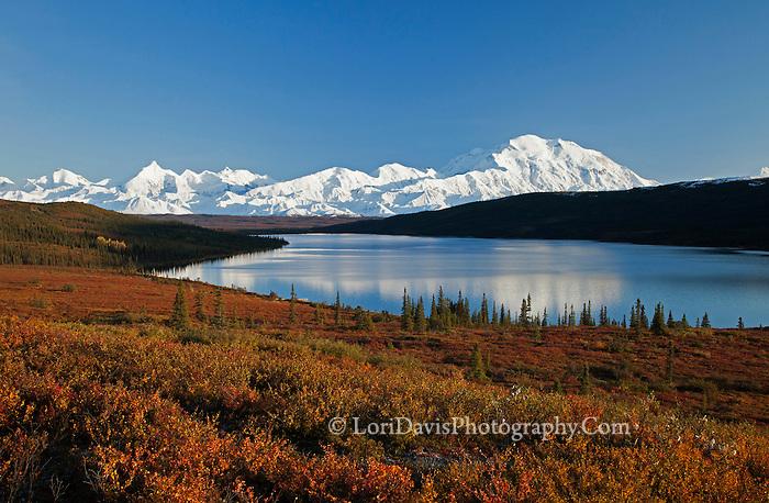 Denali Range at Wonder Lake