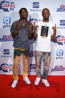 Young T & Bugsey<br /> at the 2019 Jingle Bell Ball, O2 Arena, London.<br /> <br /> ©Ash Knotek  D3544 07/12/2019
