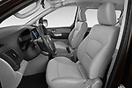 Front seat view of a 2019 Hyundai H1-People Executive 5 Door Mini Van front seat car photos