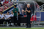 Bayern Munich Coach Carlo Ancelotti gestures during the International Champions Cup match between FC Bayern and FC Internazionale at National Stadium on July 27, 2017 in Singapore. Photo by Marcio Rodrigo Machado / Power Sport Images