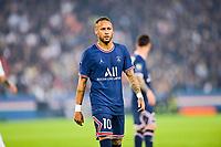 19th September 2021: Le Parc des Princes, Paris, France; French League 1 football Paris Saint Germain versus Olympique Lyonnais:  Neymar Jr PSG