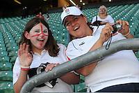 English fans enjoying the match build up - 15/08/2015 - Twickenham Stadium - London <br /> Mandatory Credit: Rob Munro/Stewart Communications