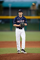 UConn Huskies starting pitcher Tim Cate (36) gets ready to deliver a pitch during a game against the USF Bulls on March 23, 2018 at USF Baseball Stadium in Tampa, Florida.  UConn defeated USF 6-4.  (Mike Janes/Four Seam Images)