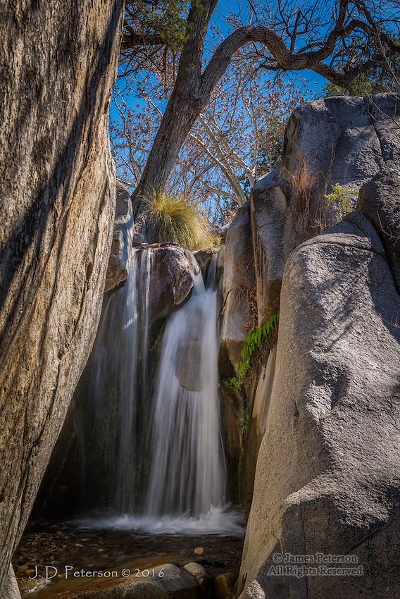 Madera Canyon Waterfall, Arizona