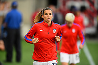 Cincinnati, OH - Tuesday September 19, 2017: Tobin Heath during an International friendly match between the women's National teams of the United States (USA) and New Zealand (NZL) at Nippert Stadium.