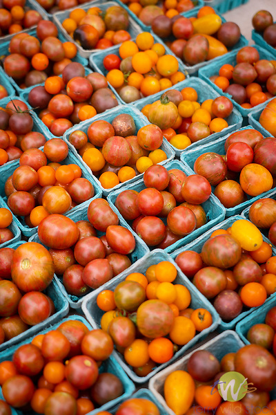 Southland Farmers Market. Cherry tomatoes.