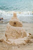 Hawaii Sand Festival, Sand Art/Castle Contest, Hanalei Bay Beach, Kauai, Hawaii, USA