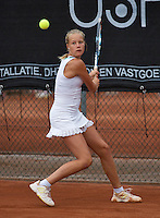10-08-13, Netherlands, Rotterdam,  TV Victoria, Tennis, NJK 2013, National Junior Tennis Championships 2013,  Nina Kruijer<br /> <br /> Photo: Henk Koster
