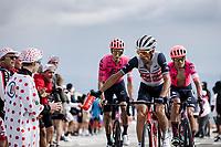 Vicenzo Nibali (ITA/Trek-Segafredo) offering  his bidon while ascending the Mont Ventoux<br /> <br /> Stage 11 from Sorgues to Malaucène (198.9km)<br /> 108th Tour de France 2021 (2.UWT)<br /> <br /> ©kramon