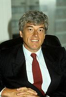 Montreal (Qc) Canada  file Photo -  1986 -Claude Blanchet, President SGF, Societe Generale de Financement