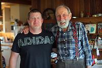Steve Hale and Peter Bush, 9 January 2017