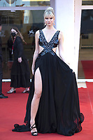 A guest attending the Un Autre Monde Premiere as part of the 78th Venice International Film Festival in Venice, Italy on September 09, 2021. <br /> CAP/MPIIS<br /> ©MPIIS/Capital Pictures