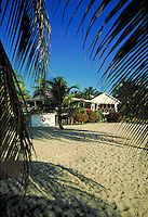 Rum Point Inn on the beach Placencia, Belize. Placencia, Belize Central America.