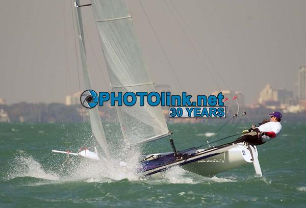 Miami, FL 7-12-2003<br /> Sailing in Miami<br /> Digital Photo by Adam Scull/PHOTOlink