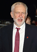 Former Labour Party leader Jeremy Corbyn has been suspended from the party and has had the whip removed after his reaction to an anti-Semitism report. Thursday October 29th 2020<br /> Pictured here at the Pride of Britain Awards at the Grosvenor House, Park Lane, London on Monday 29 October 2018<br /> <br /> Photo by Keith Mayhew