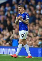 25th September 2021; Goodison Park, Liverpool, England; Premier League football, Everton versus Norwich; Lucas Digne of Everton