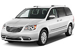 Front three quarter view of a 2012 Chrysler Town And Country Limited .