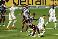 Santos (SP), 21.02.2020 - Santos-Fluminense - O jogador alisson. Partida entre Santos e Fluminense valida pela 37. rodada do Campeonato Brasileiro neste domingo (21) no estadio da Vila Belmiro em Santos.