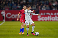CARSON, CA - FEBRUARY 7: Jacqueline Ovalle #11 of Mexico during a game between Mexico and USWNT at Dignity Health Sports Park on February 7, 2020 in Carson, California.