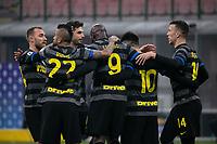 inter-benevento - milano 30 gennaio 2021 - 20° giornata serie A - nella foto: lukaku gol 3-0