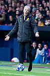 Borussia Dortmund coach Lucien Favre during group stage of UEFA Champions League match between Atletico de Madrid and Borussia Dortmund at Wanda Metropolitano in Madrid, Spain.November 06, 2018. (ALTERPHOTOS/Borja B.Hojas)