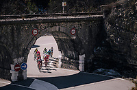 'under the bridge'<br /> <br /> 76th Paris-Nice 2018<br /> stage 6: Sisteron > Vence (198km)