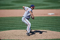 Harrisburg Senators pitcher Jordan Mills (31) during an Eastern League game against the Erie SeaWolves on June 30, 2019 at UPMC Park in Erie, Pennsylvania.  Erie defeated Harrisburg 4-2.  (Mike Janes/Four Seam Images)