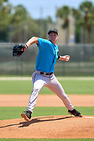 Miami Marlins pitcher Dax Fulton (20) during a Minor League Spring Training camp day on April 28, 2021 at Roger Dean Chevrolet Stadium Complex in Jupiter, Fla.  (Mike Janes/Four Seam Images)