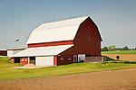 Barn and wind turbines Missaukee County, MI..