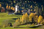 Austria, East-Tyrol, Matrei in East-Tyrol: romanesque church Saint Nikolaus, built 12th century | Oesterreich, Osttirol, Matrei in Osttirol: romanische Sankt Nikolauskirche, erbaut im 12. Jh.