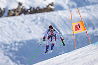 11th November 2020; Obergurgl, Austria; Christoph Krenn of Austria during a free downhill training for the mens OeSV team in Obergurgl, Austria