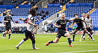 Bolton Wanderers' Peter Kioso (left) provides an assist for his sides first goal<br /> <br /> Photographer Andrew Kearns/CameraSport<br /> <br /> The EFL Sky Bet League Two - Bolton Wanderers v Oldham Athletic - Saturday 17th October 2020 - University of Bolton Stadium - Bolton<br /> <br /> World Copyright © 2020 CameraSport. All rights reserved. 43 Linden Ave. Countesthorpe. Leicester. England. LE8 5PG - Tel: +44 (0) 116 277 4147 - admin@camerasport.com - www.camerasport.com