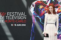 FESTIVAL TELEVISION DE MONTE CARLO - PHOTOCALL 'POLDARK' AVEC ELEANOR TOMLINSON