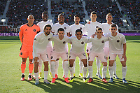 WASHINGTON, DC - MARCH 07: Inter Miami CF Starting Eleven during a game between Inter Miami CF and D.C. United at Audi Field on March 07, 2020 in Washington, DC.