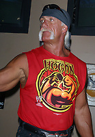 Wrestlemania XIX Press Conference Hulk Hogan  2003                      By John Barrett/PHOTOlink