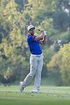 Rafael Cabrera Bello of Spain tees off during the 58th UBS Hong Kong Golf Open as part of the European Tour on 10 December 2016, at the Hong Kong Golf Club, Fanling, Hong Kong, China. Photo by Vivek Prakash / Power Sport Images