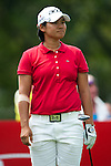 CHON BURI, THAILAND - FEBRUARY 17:  Yani Tseng of Taiwan tees off  on the 15th hole during day two of the LPGA Thailand at Siam Country Club on February 17, 2012 in Chon Buri, Thailand.  Photo by Victor Fraile / The Power of Sport Images