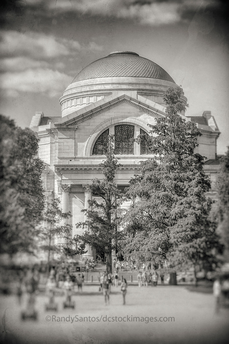 Smithsonian Museum of Natural History Washington DC Black and White Photography Washington DC Art - - Framed Prints - Wall Murals - Metal Prints - Aluminum Prints - Canvas Prints - Fine Art Prints Washington DC Landmarks Monuments Architecture