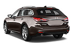 Car pictures of rear three quarter view of 2015 Mazda Mazda 6 Skycruse 5 Door Wagon Angular Rear