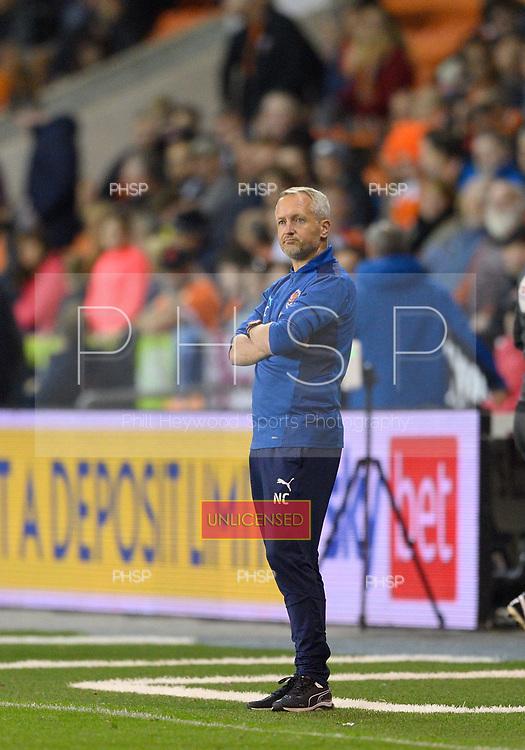 14/09/2021 Sky Bet Championship Blackpool v Huddersfield Town  <br /> <br /> Blackpool FC Head Coach, Neil Critchley