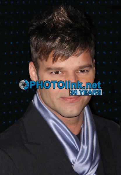 Ricky Martin 2-17-2009. Photo By John Barrett/PHOTOlink