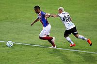 16th November 2020; Couto Pereira Stadium, Curitiba, Brazil; Brazilian Serie A, Coritiba versus Bahia; Neilton of Coritiba and Élber of Bahia