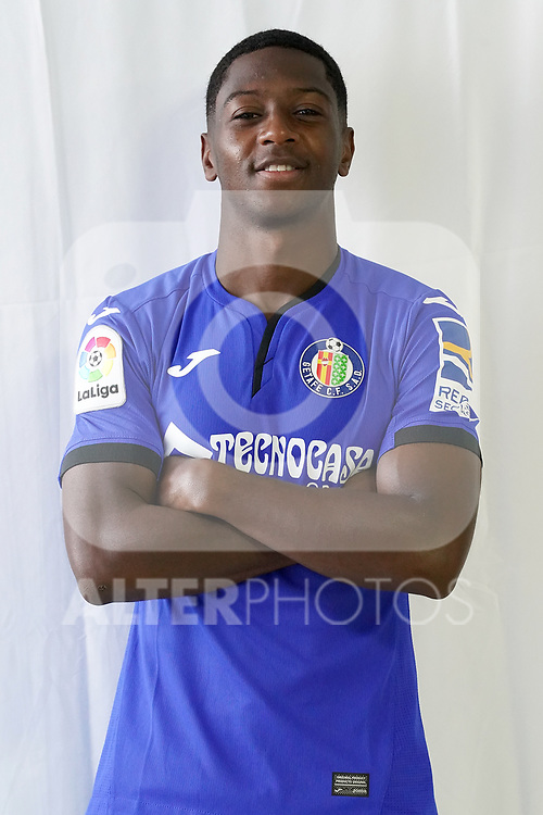 Getafe CF's new player Abdoulay Diaby during official photo session. October 7, 2020. (ALTERPHOTOS/Acero)