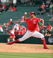 Jose Rodriguez - Los Angeles Angels 2020 spring training (Bill Mitchell)