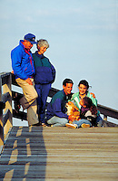 Three generation family on vacation, Outer Banks, North Carolina