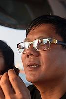 Wang Da-Fu, lokaler Großinvestor in Sanya auf der Insel Hainan, China<br /> Wang D-Fu local tycoon, Sanya, Hainan island, China