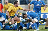 Firenze 24/11/2012 .Rugby test match Stadio Franchi Italia vs Australia .Nella foto Luciano Orquera in azione.Photo Matteo Ciambelli / Insidefoto