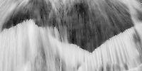 The Roaring Fork river near Aspen provides endless opportunities for intimate photos of rushing water.  <br /> <br /> Canon EOS 5D, 70-200 f/2.8 lens
