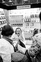 UNDATED FILE PHOTO -  Pierre Valliere<br />  at Montreal's book fair in the seventies.<br /> <br /> <br /> <br /> <br /> Photo : AQP - Alain Renaud