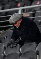 Grimsby Town manager Ian Holloway reacts<br /> <br /> Photographer Alex Dodd/CameraSport<br /> <br /> EFL Papa John's Trophy - Northern Section - Group H - Hull City v Grimsby Town - Tuesday 17th November 2020 - KCOM Stadium - Kingston upon Hull<br />  <br /> World Copyright © 2020 CameraSport. All rights reserved. 43 Linden Ave. Countesthorpe. Leicester. England. LE8 5PG - Tel: +44 (0) 116 277 4147 - admin@camerasport.com - www.camerasport.com